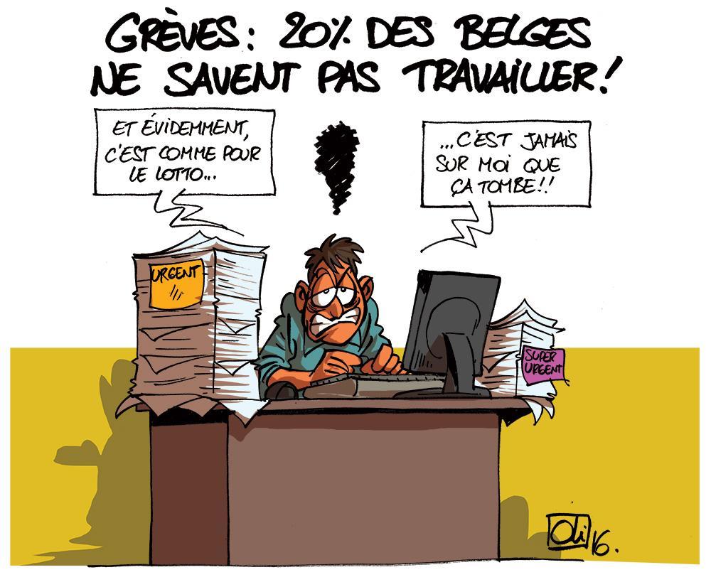 greve-20-pourcent-travailleurs-belgique