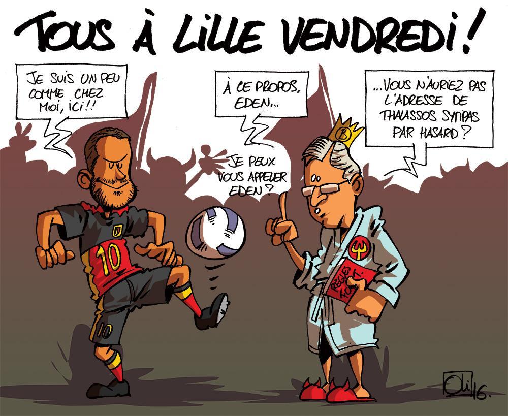 Lille-WalBel-Pays-Galles-Belgique-Eden-Hazard-roi