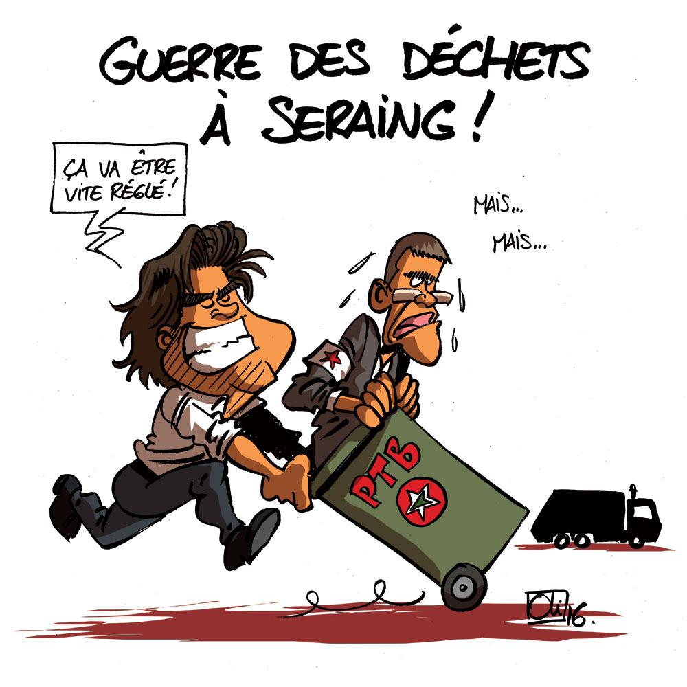 Dechets-Seraing-Alain-Mathot-Damien-Robert-PTB