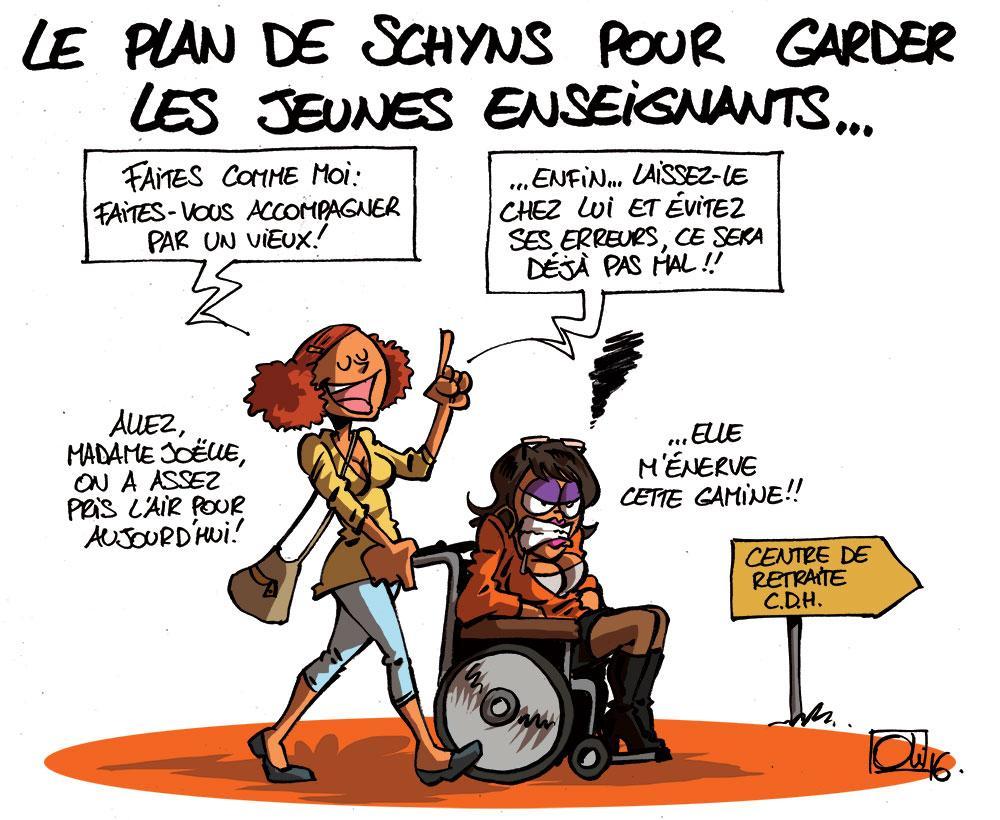 plan-Enseignement-depart-jeunes-Marie-Martine-Schyns-Joelle-Milquet