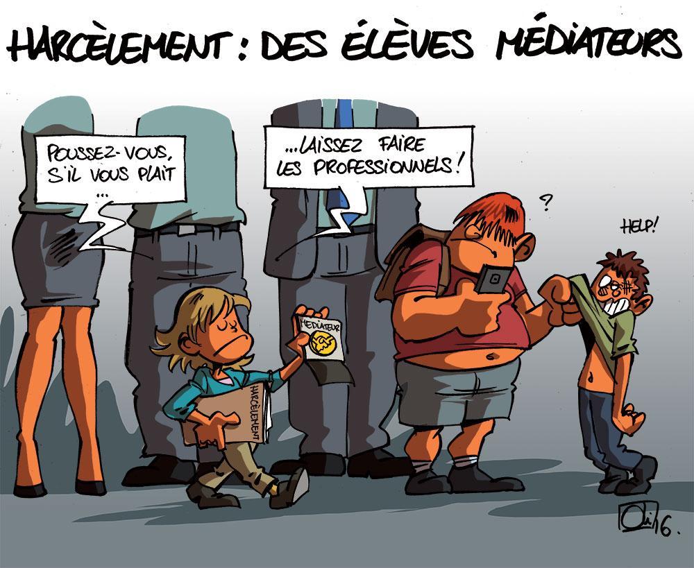 Harcelement-ecole-mediateur-enfants