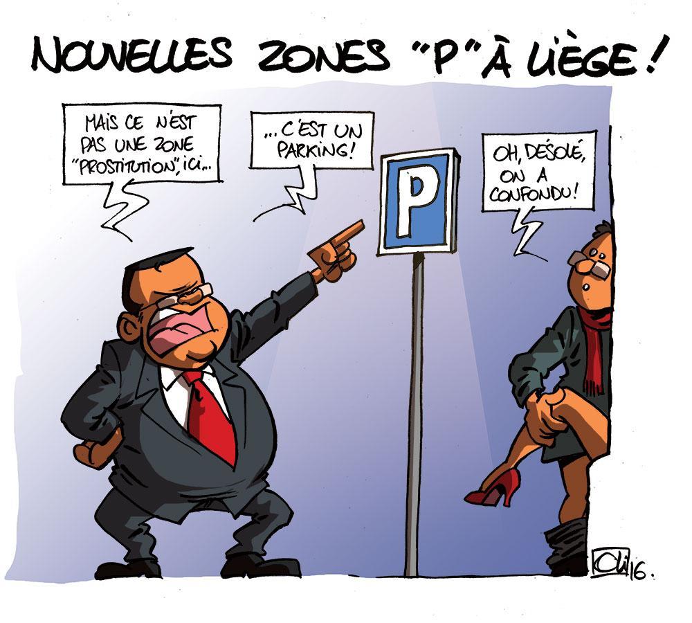 Willy Demeyer veut une zone P à Liège !