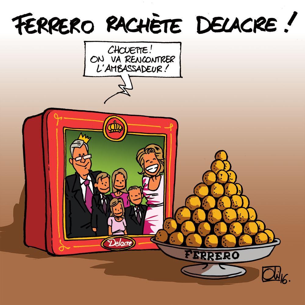 Ferrero achète Delacre !
