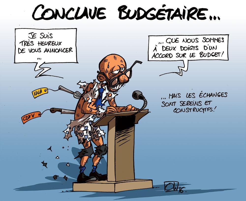 Conclave budgétaire : pas d'accord !