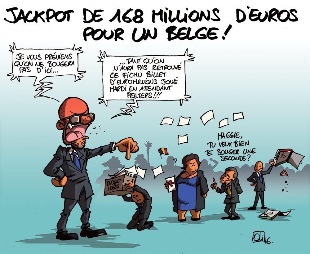 Un belge gagne le jackpot à l'EuroMillions !