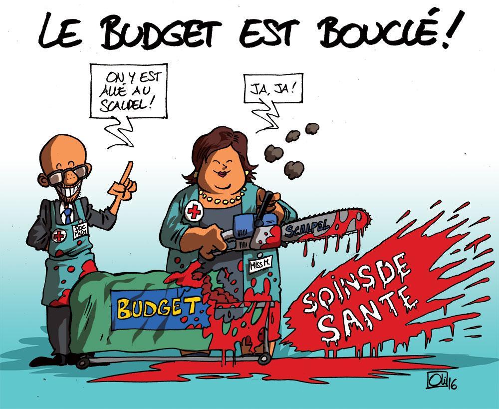 Le budget du gouvernement Michel