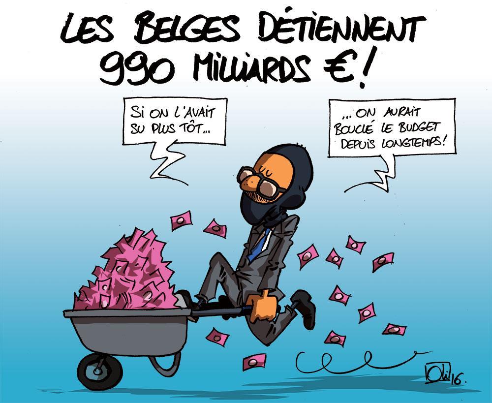 990 milliards pour les belges !