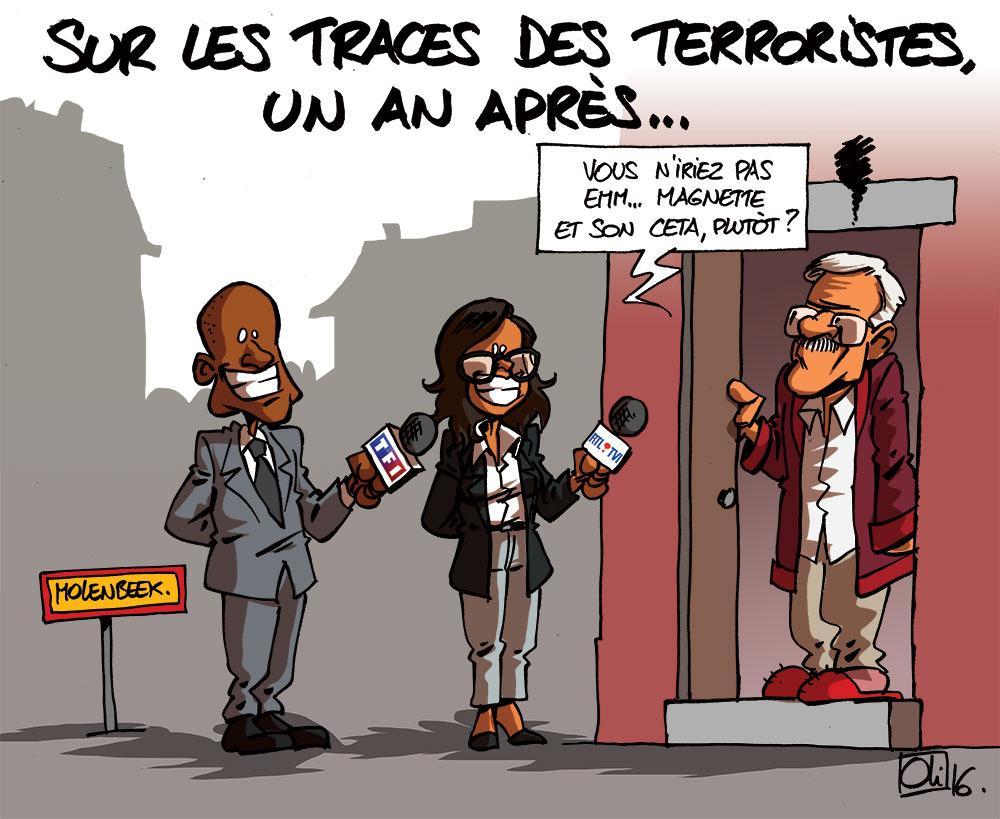 RTL et TF1 pour les 1 an des attentats