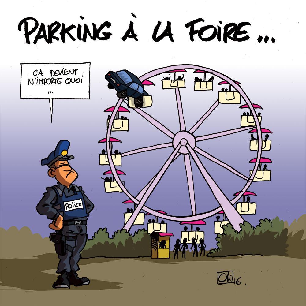 La Foire au parking à Liège !