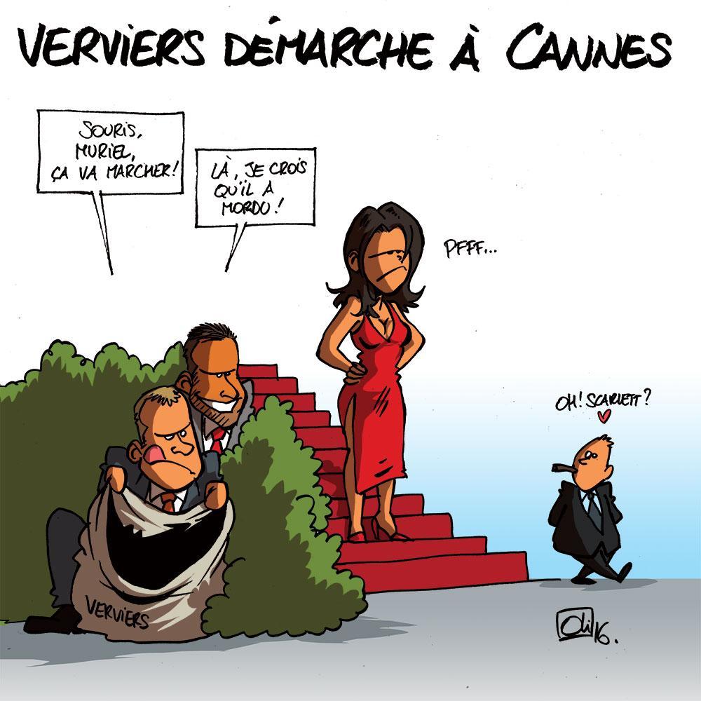 Verviers à Cannes pour des sous !