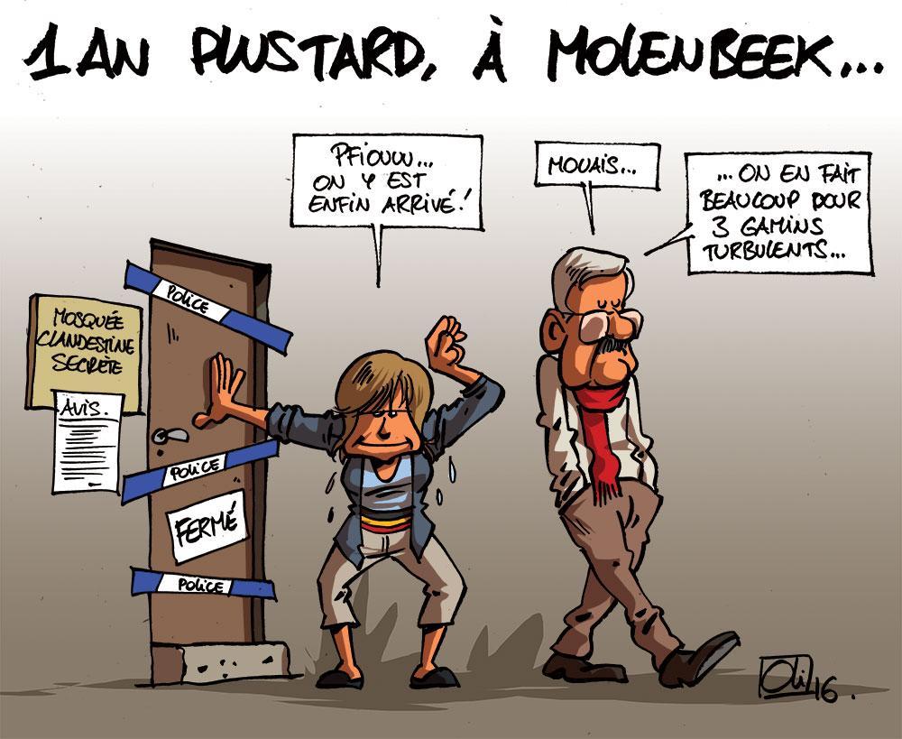 Molenbeek, un an après Paris !