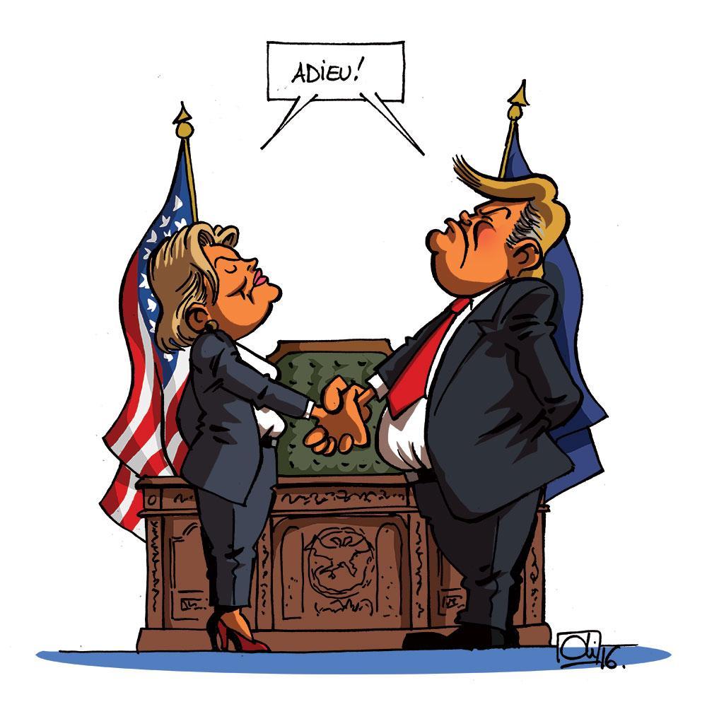 USA : le dernier duel d'Hillary Clinton et de Donald Trump