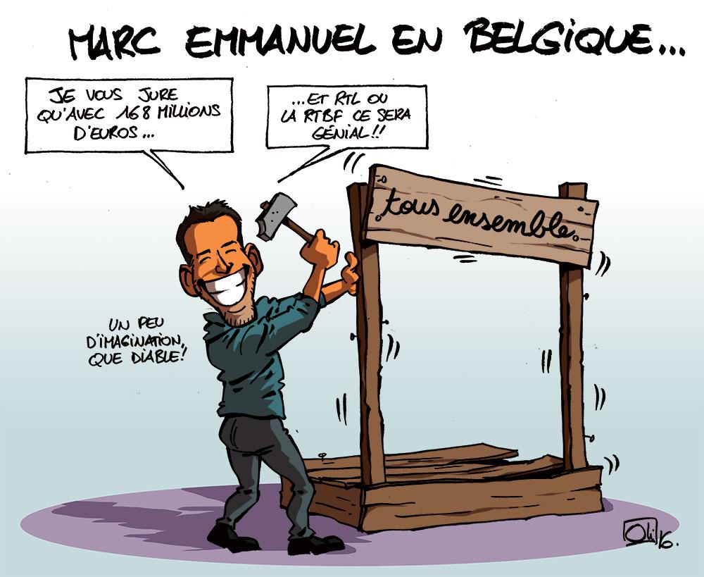 Marc Emmanuel en Belgique !
