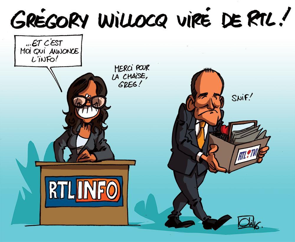 RTL se sépare de Grégory Willocq