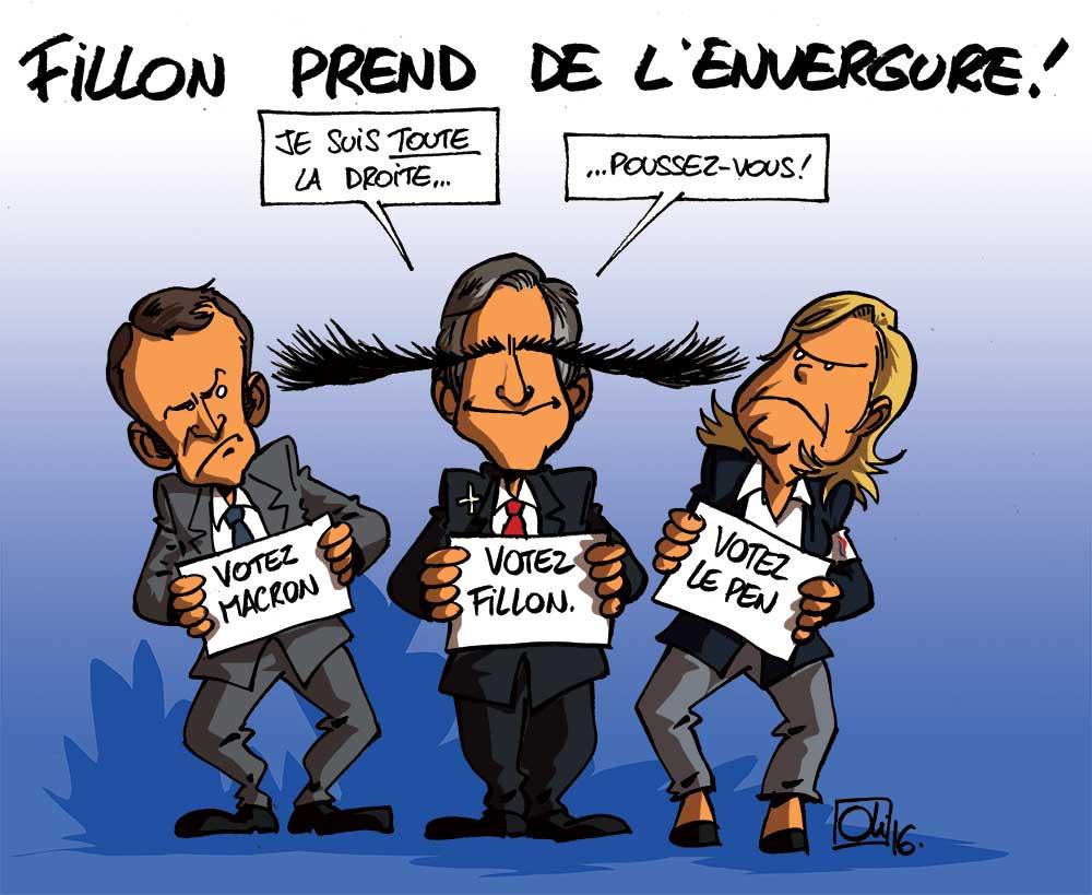 François Fillon mènera la droite