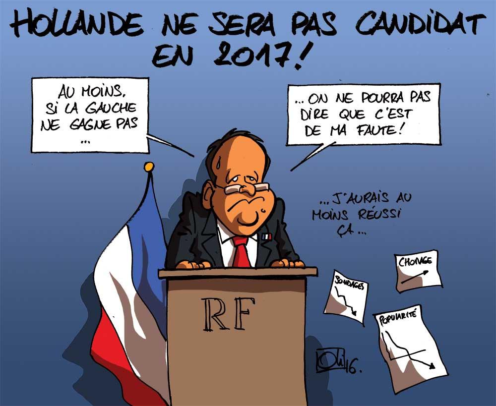 François Hollande ne sera plus président !