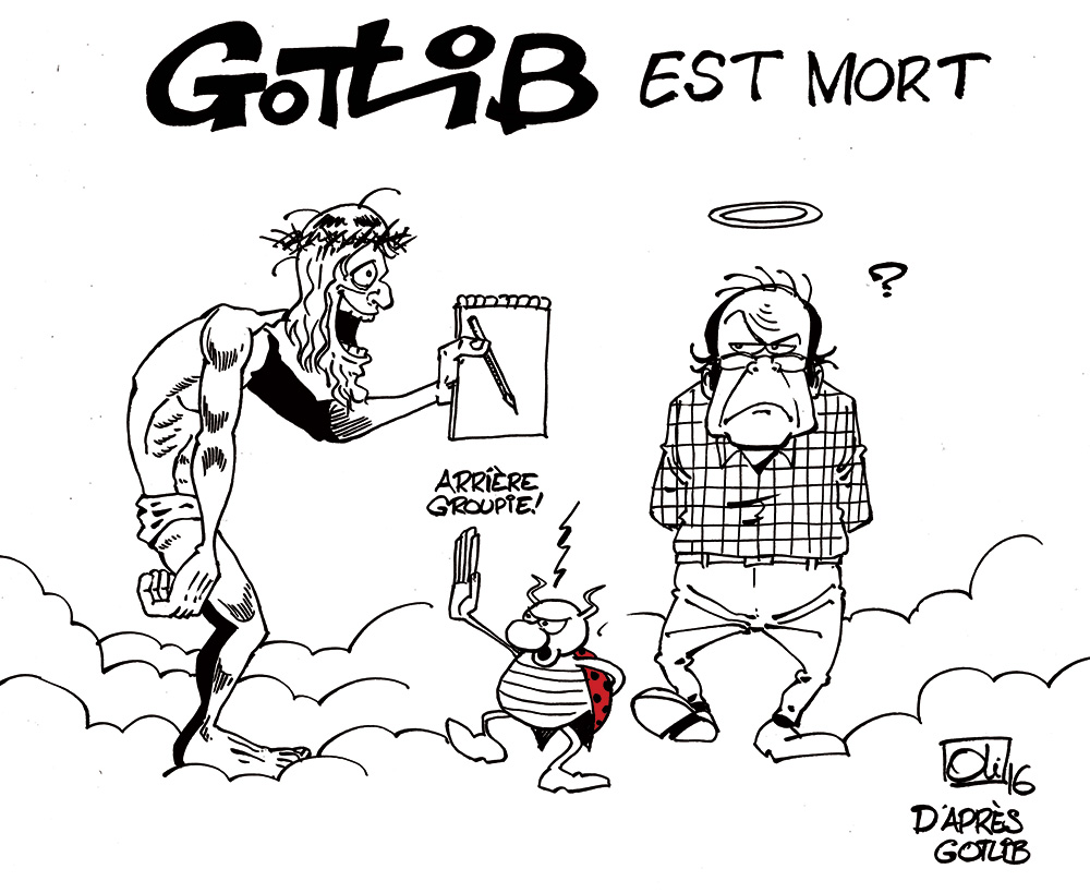 Marcel Gotlib est mort