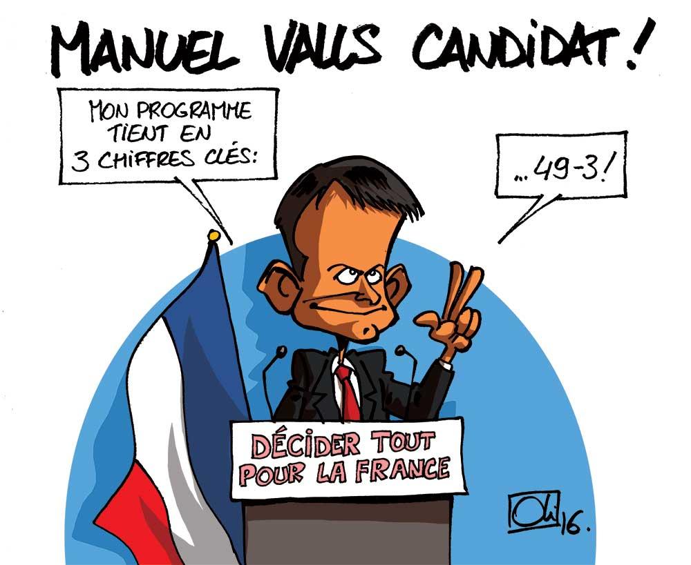 Valls va devoir convaincre 49-3