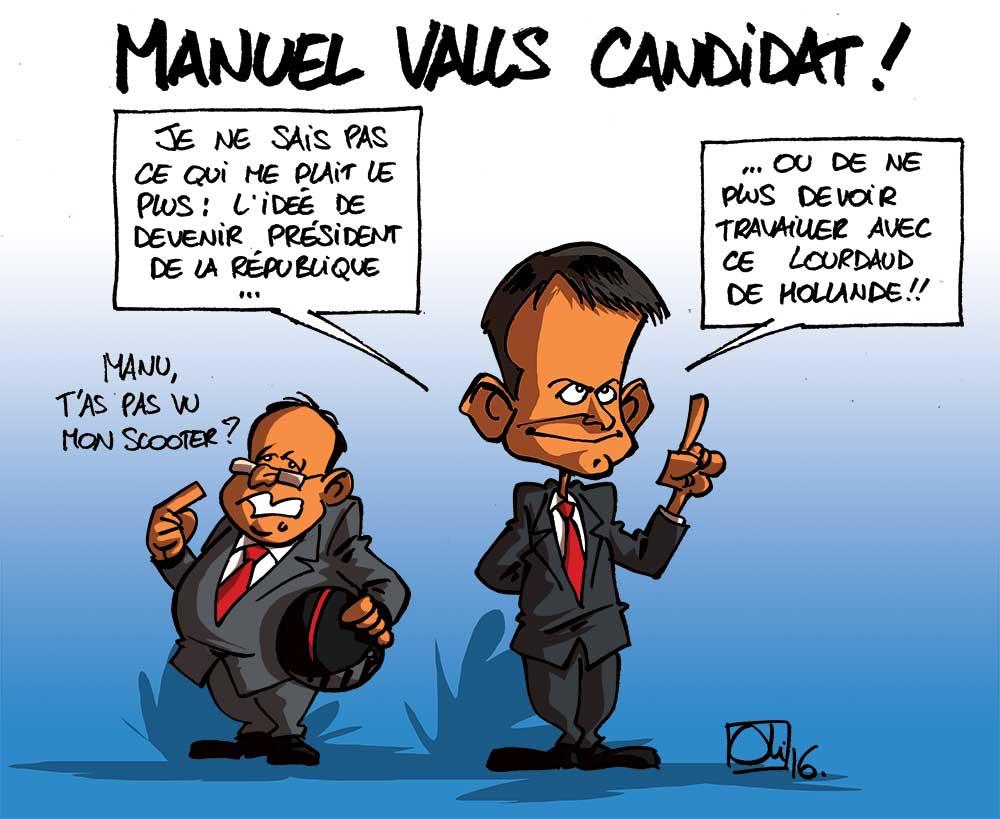 Manuel Valls candidat pour 2017 !