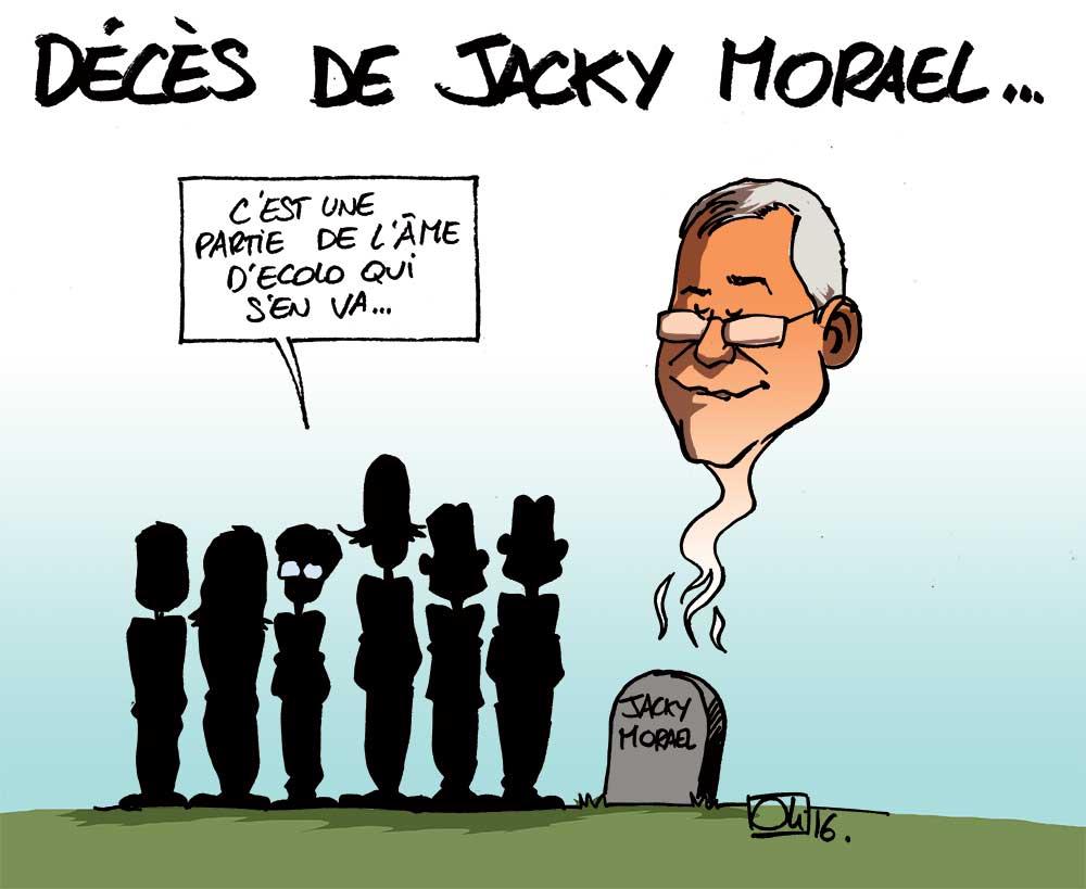 Jacky Morael est mort