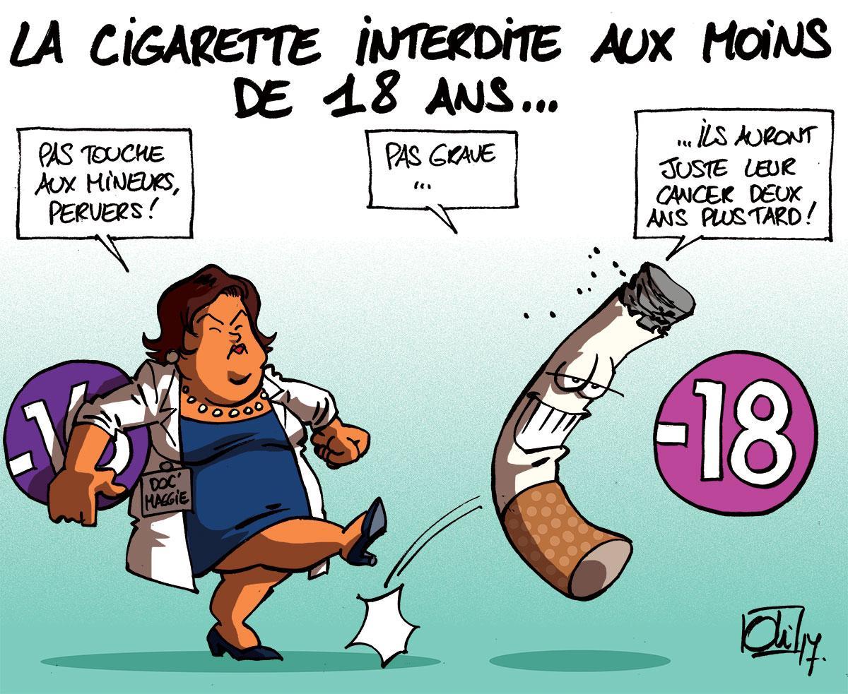 Cigarette Caricature cigarette | les humeurs d'oli