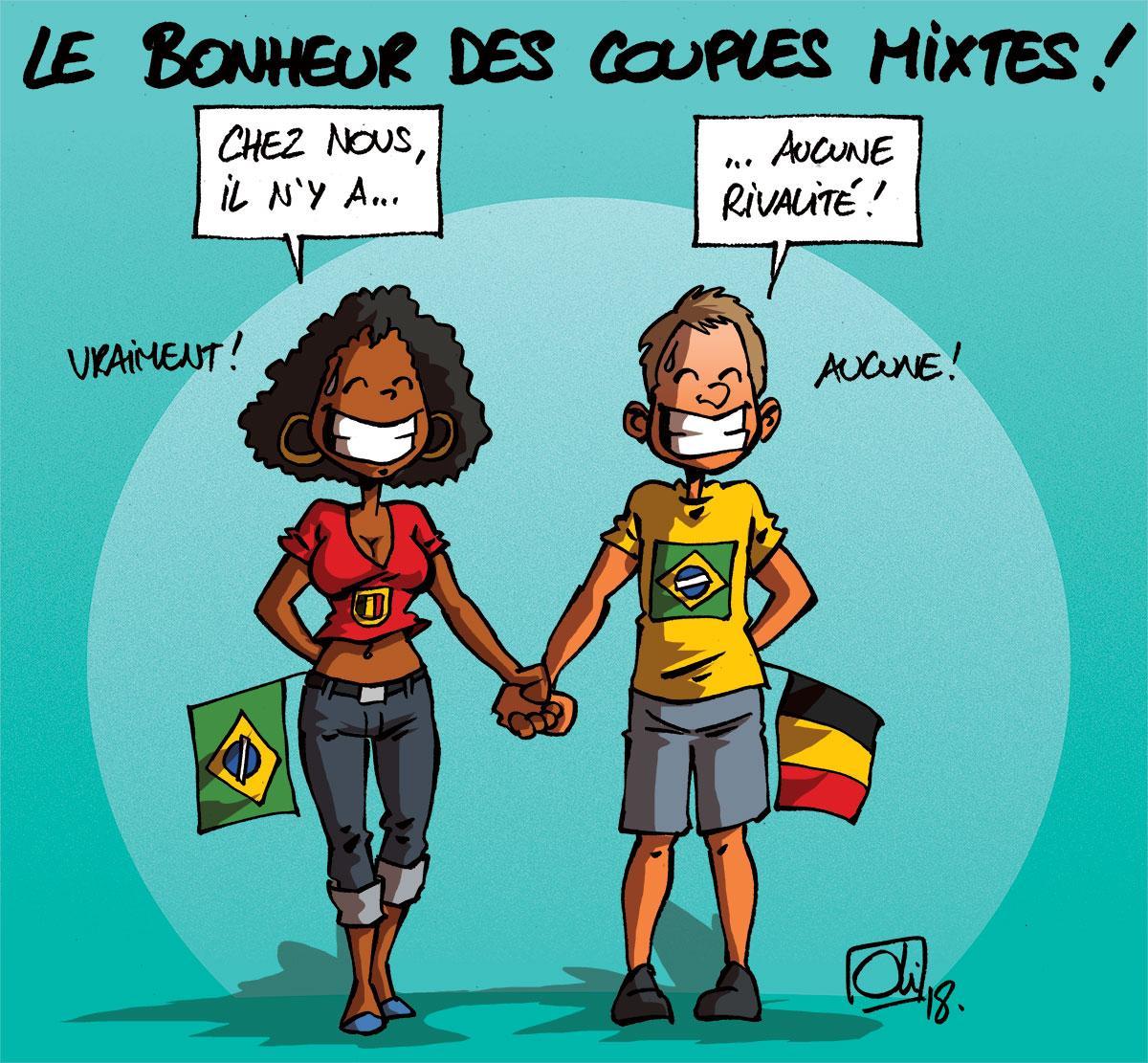 Bresil Belgique J 1 Les Humeurs D Oli