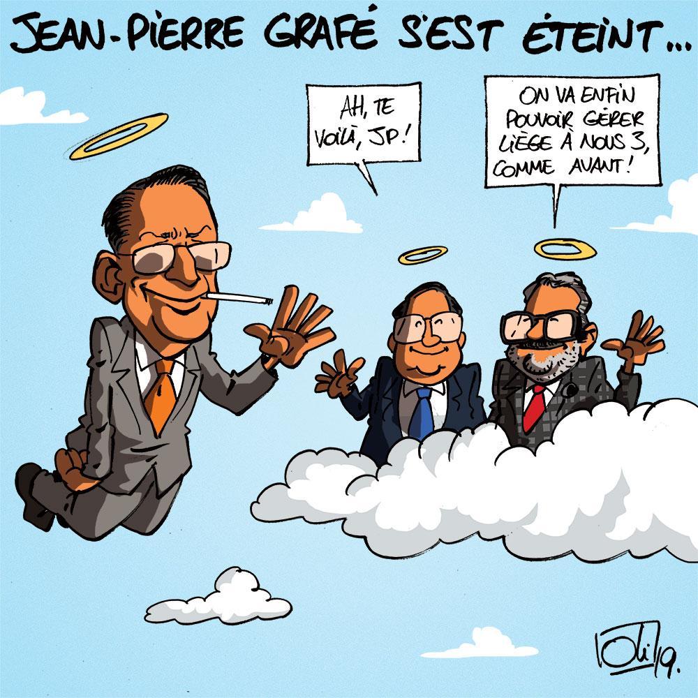 Jean-Pierre Grafé est mort