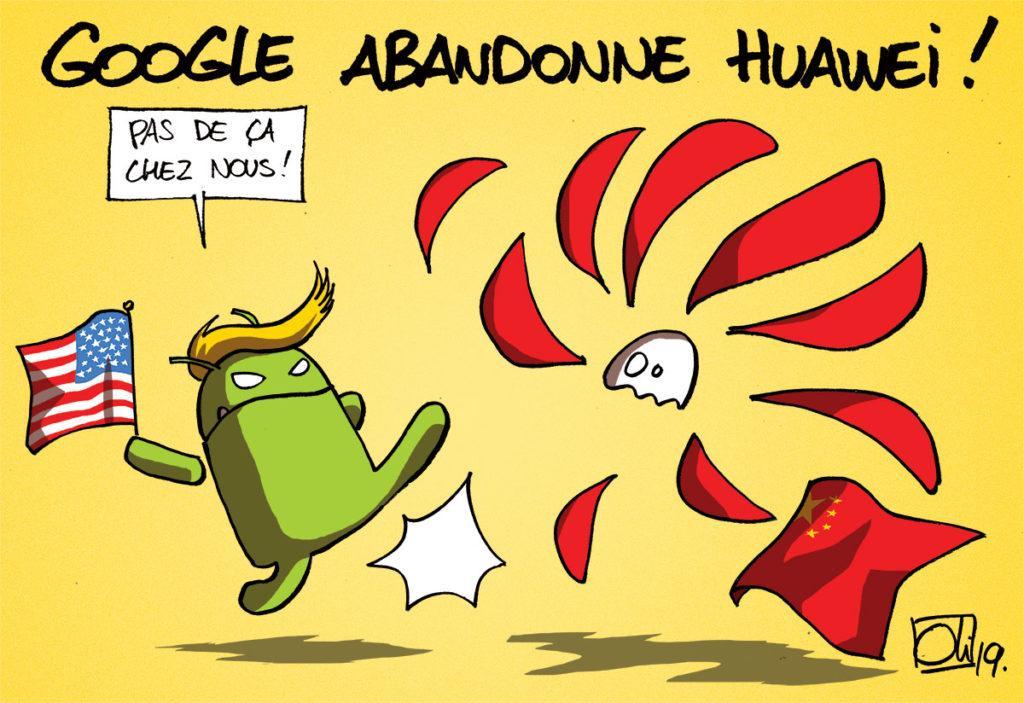 Google abandonne Huawei !