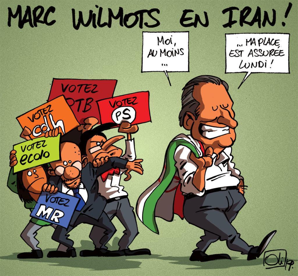 Marc Wilmots en Iran