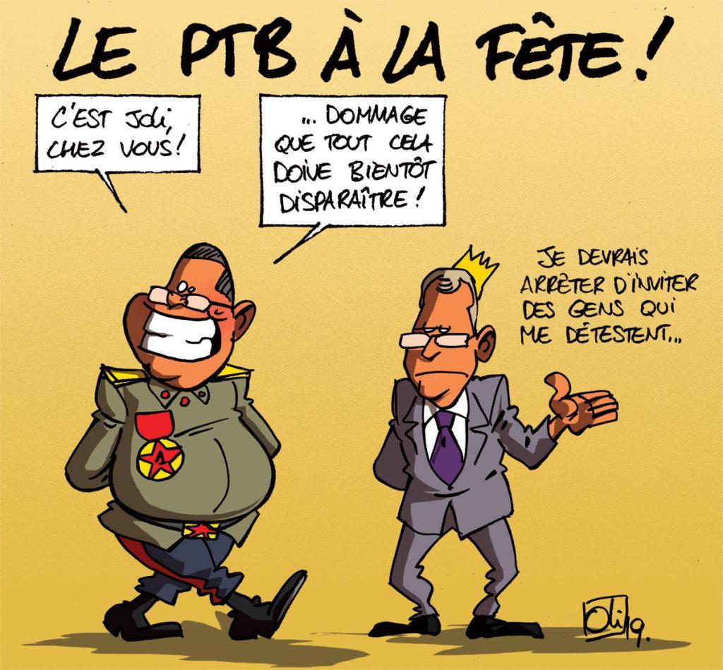 Le PTB gagne en Wallonie !
