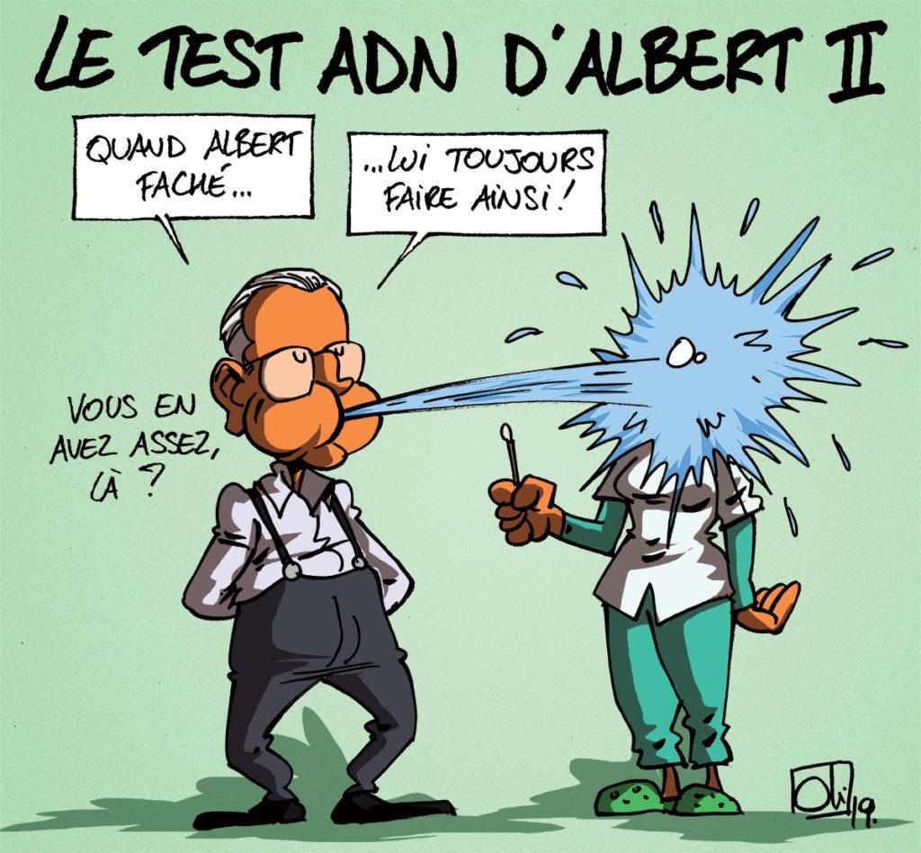 Albert II a fait son test ADN !