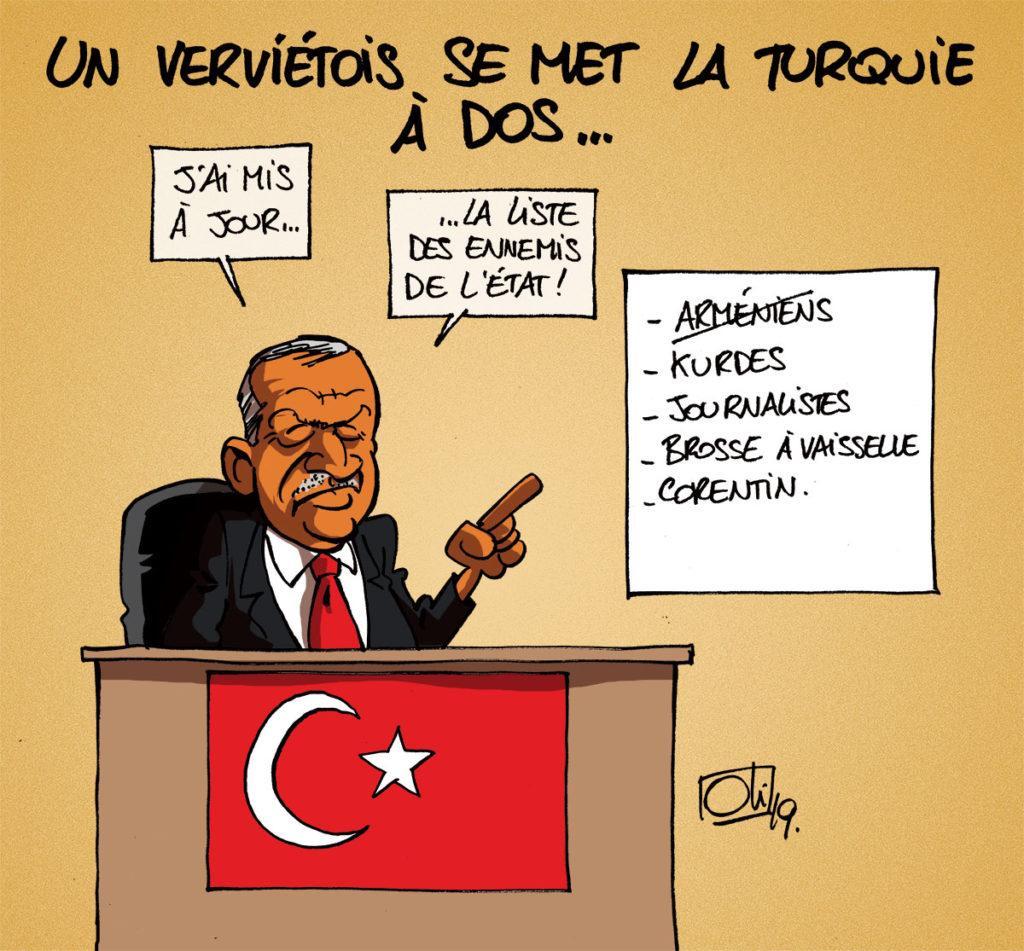 BrushMan et la Turquie !