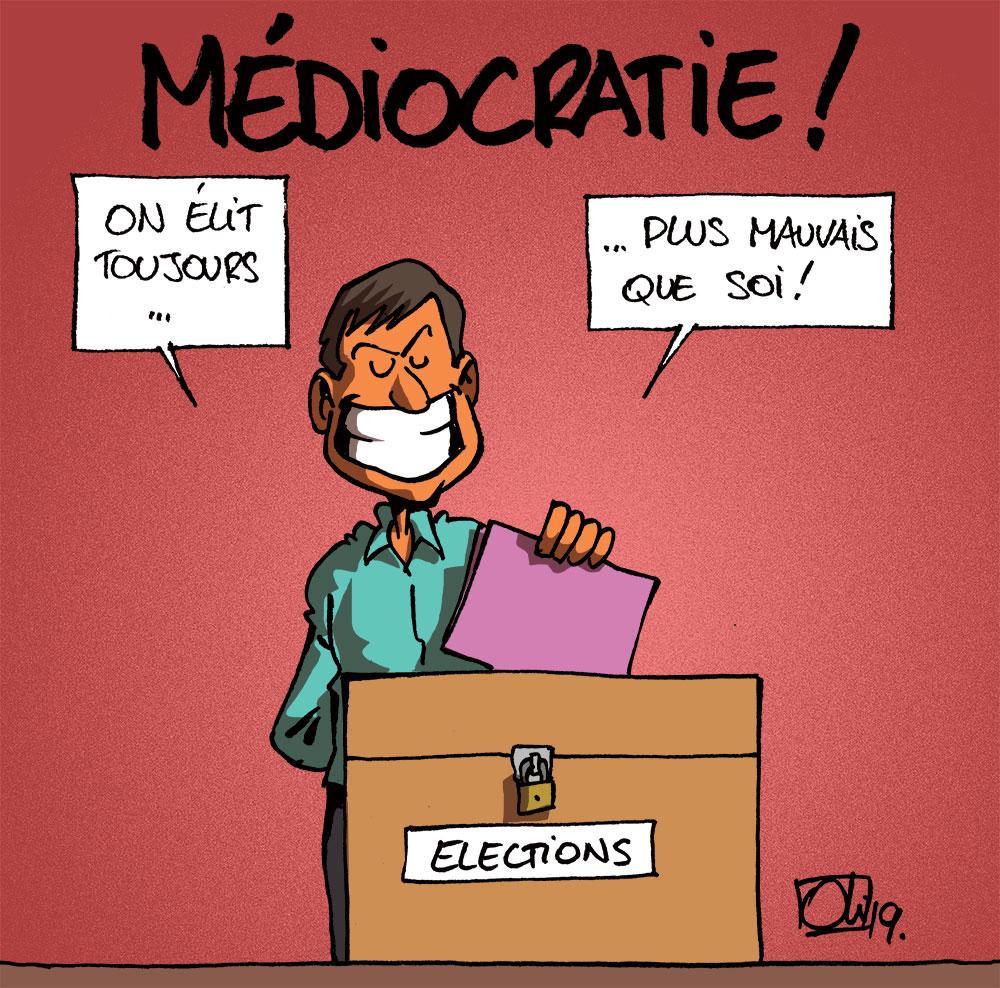 Médiocratie à la belge !