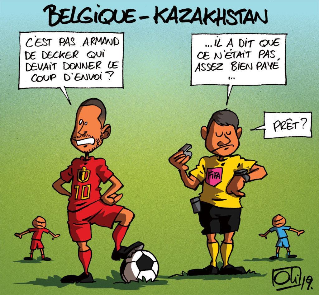 Belgique - Kazakhstan
