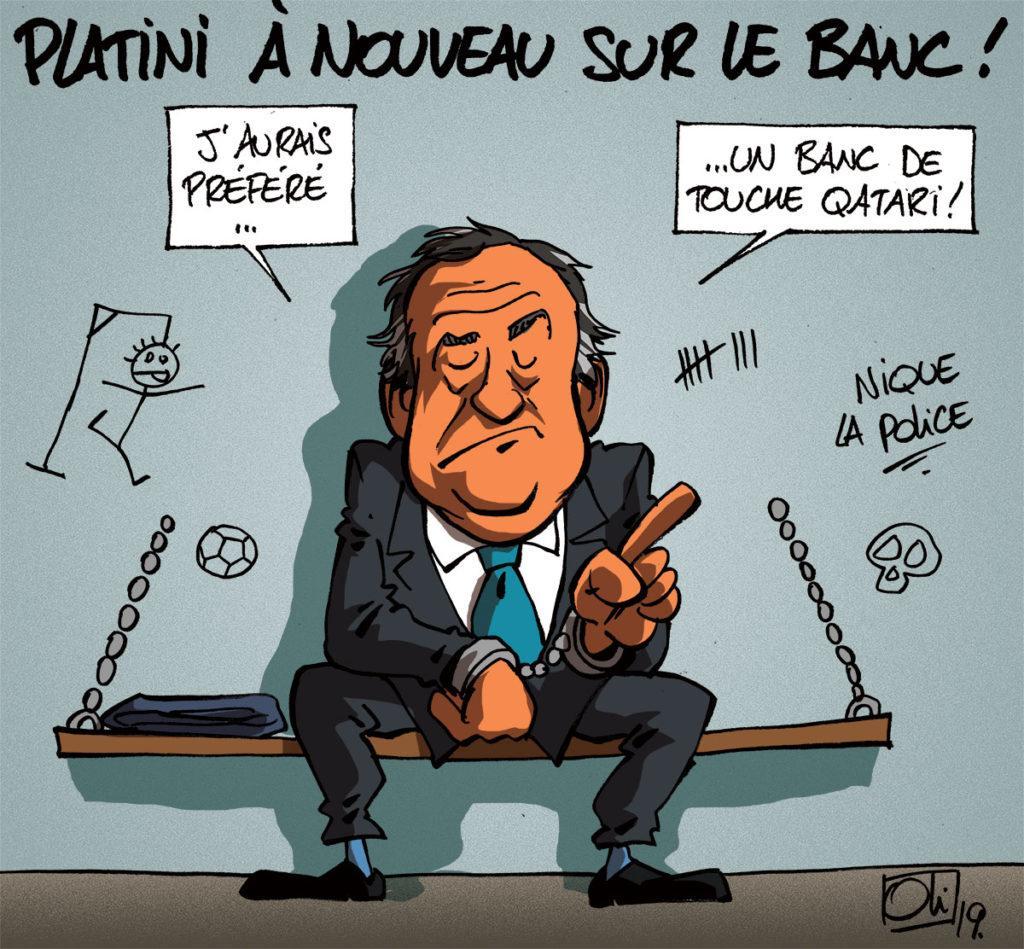 Carton rouge pour Platini !