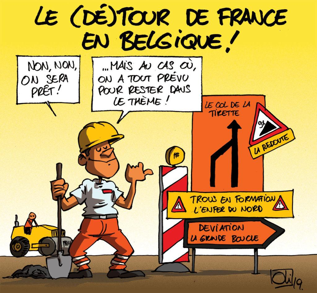 Le Tour de France en Belgique