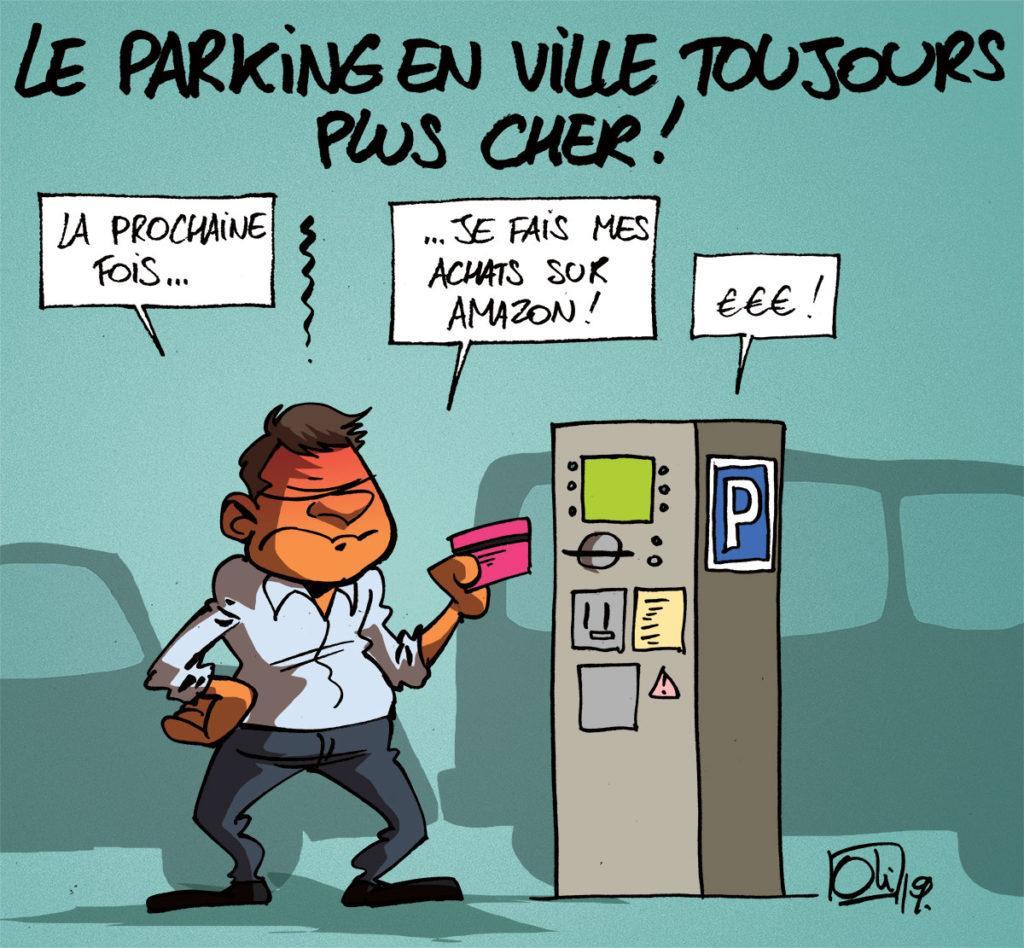 Parkings en villes toujours plus chers