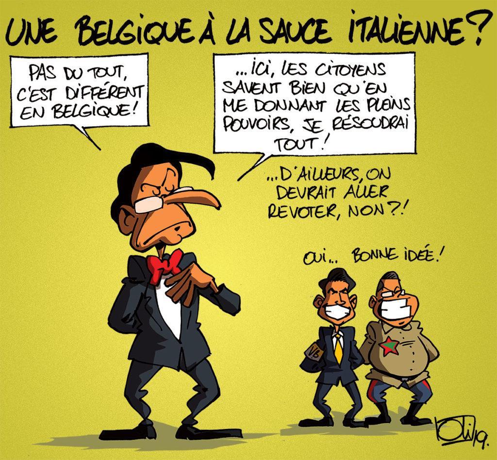La Belgique comme l'Italie ?