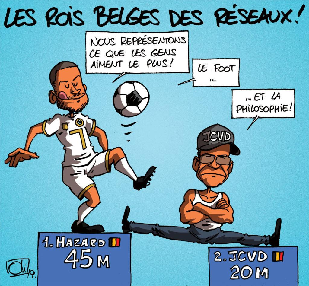 Les stars belges des réseaux sociaux !