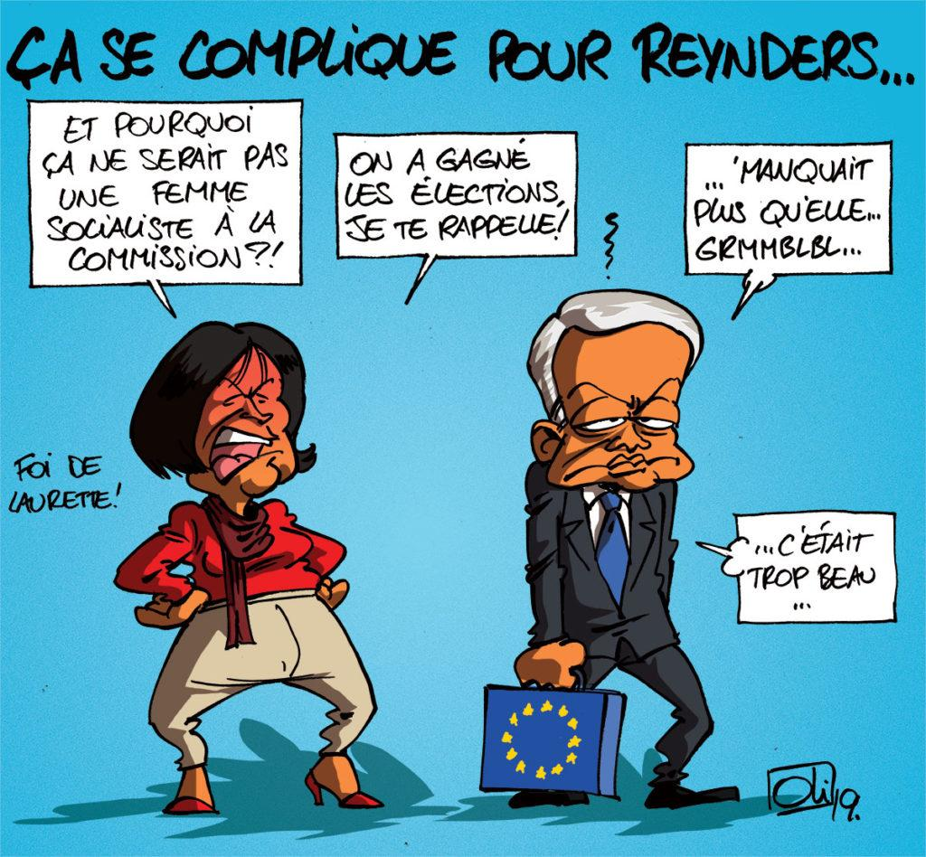 Reynders ou Onkelinx ?