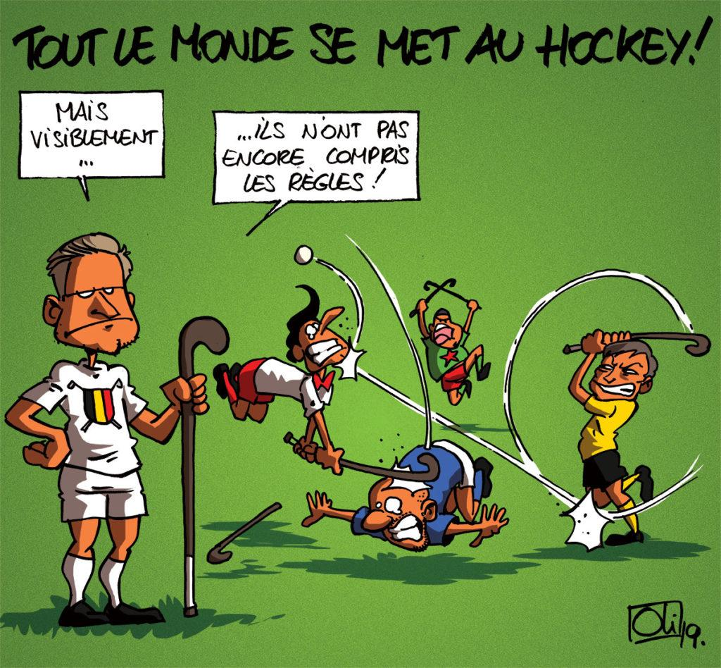 Le hockey à la cote !