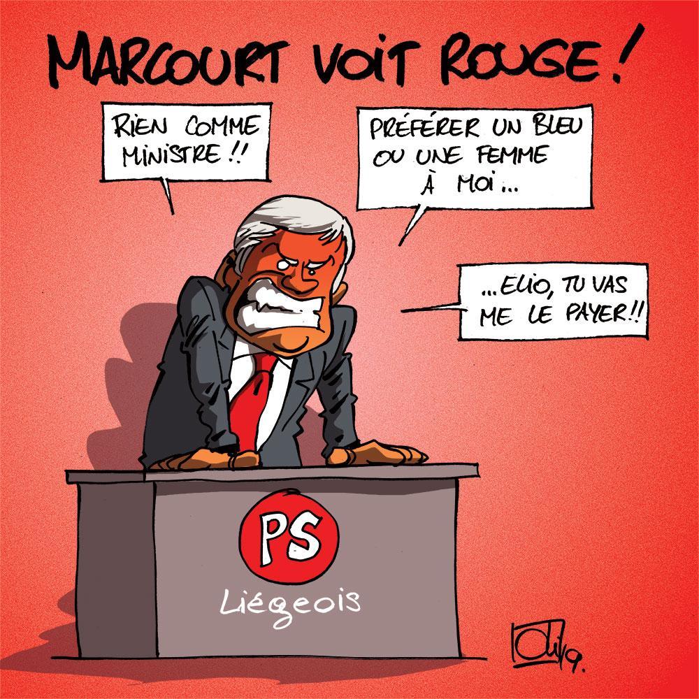 Pas de poste ministériel pour Marcourt