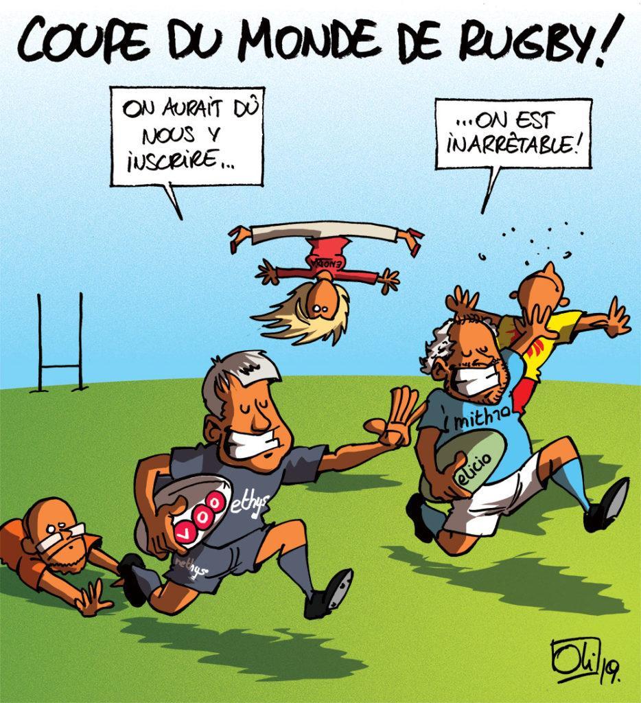 Coupe du monde rugby... façon Publifin !