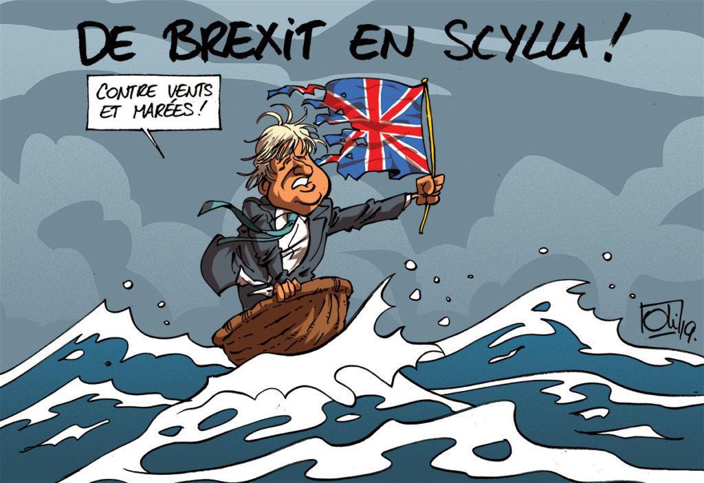 Boris Johnson dans la tempête