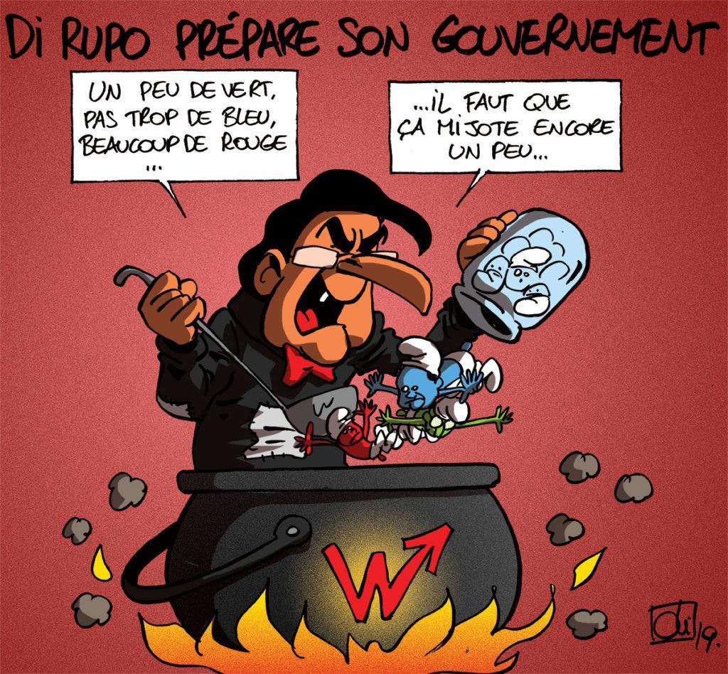 Di Rupo va-t-il surprendre avec son gouvernement ?