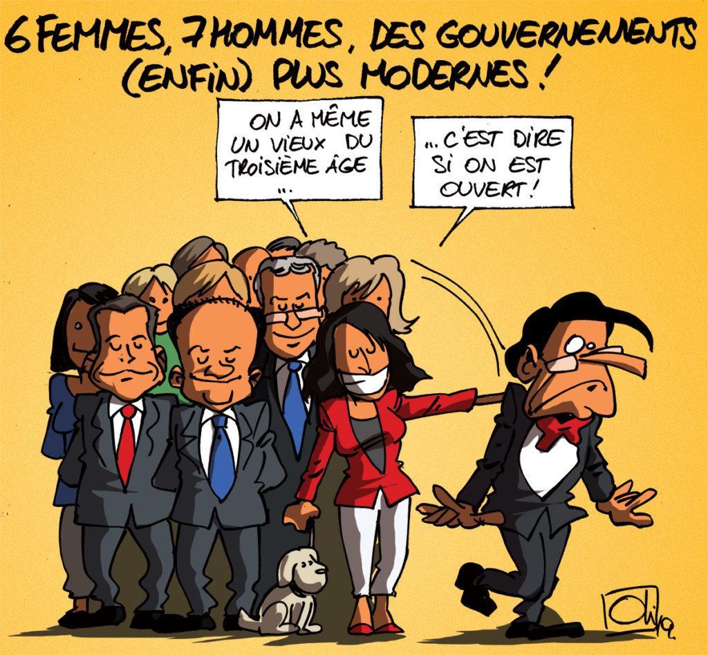 7 hommes et 6 femmes pour les nouveaux gouvernements wallons !