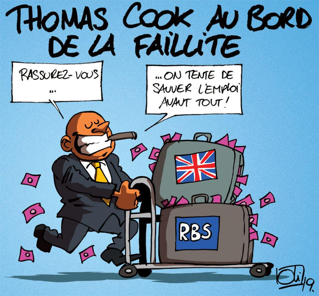 Thomas Cook bientôt en faillite ?