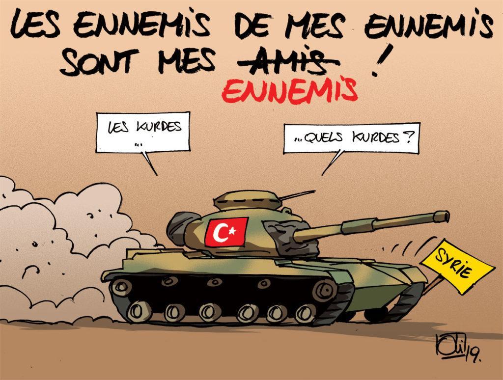 La Turquie s'en prend aux Kurdes de Syrie