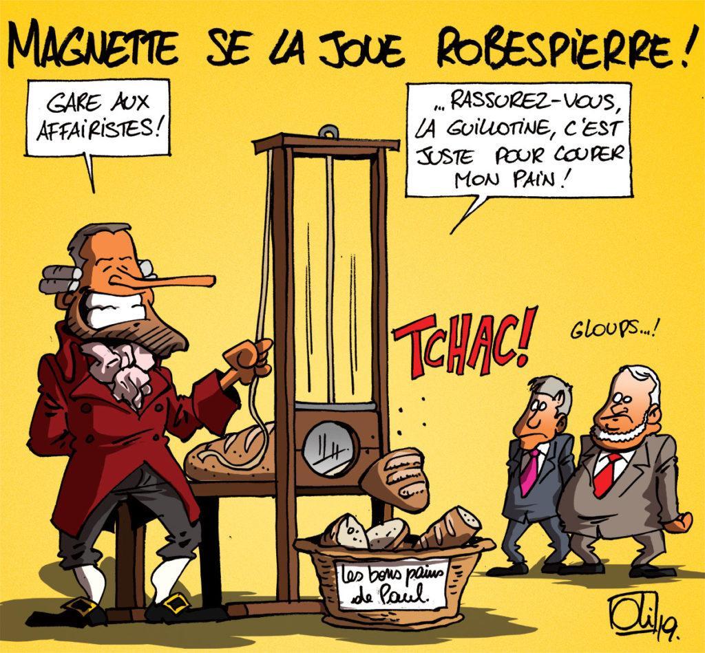 Magnette en Robespierre