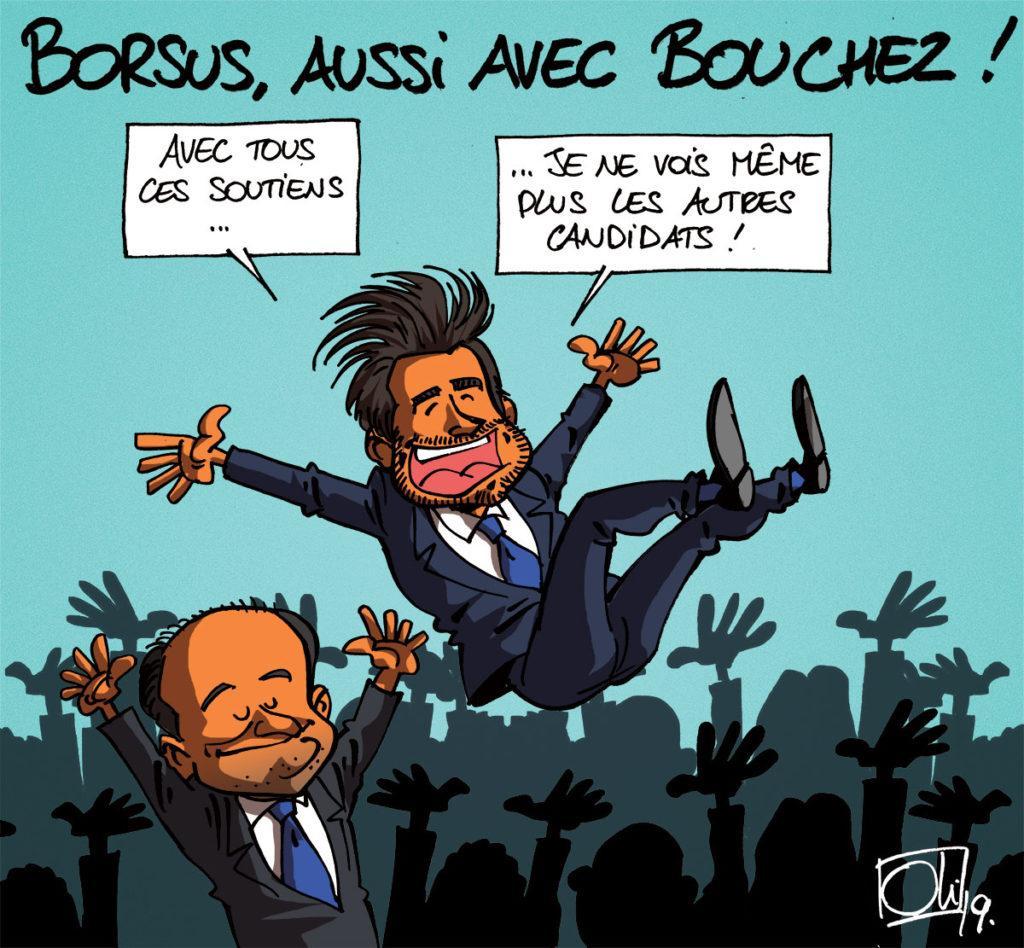 Borsus soutient la candidature de Bouchez !